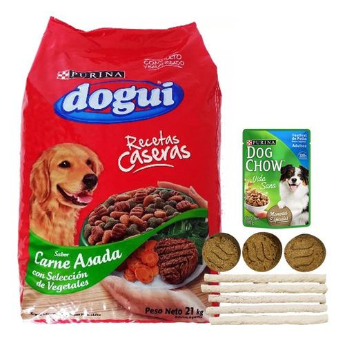 Comida Perro Dogui Vegatales 21 Kg + Regalo + Envío Gratis
