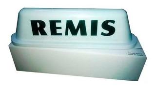 Cartel Techo Remis Luz Base Imantada Luminosa 12v Remise