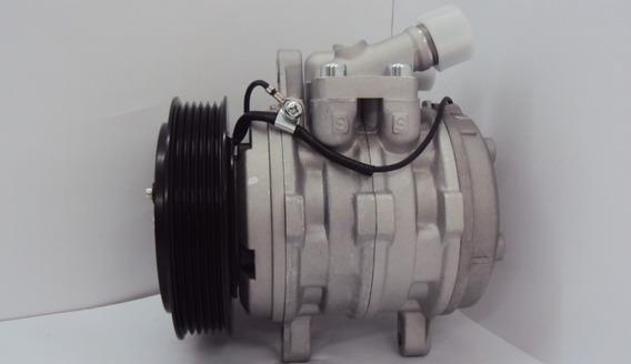 Compressor Denso 10p08 Vw Gol 1.0 C/dh G2/g3/g4 Polia 6pk