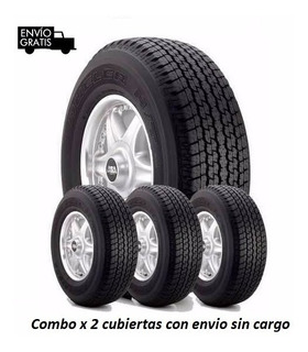 265/70/16 Combo X 4 Cub Bridgestone Dueler Ht 840 E/gratis