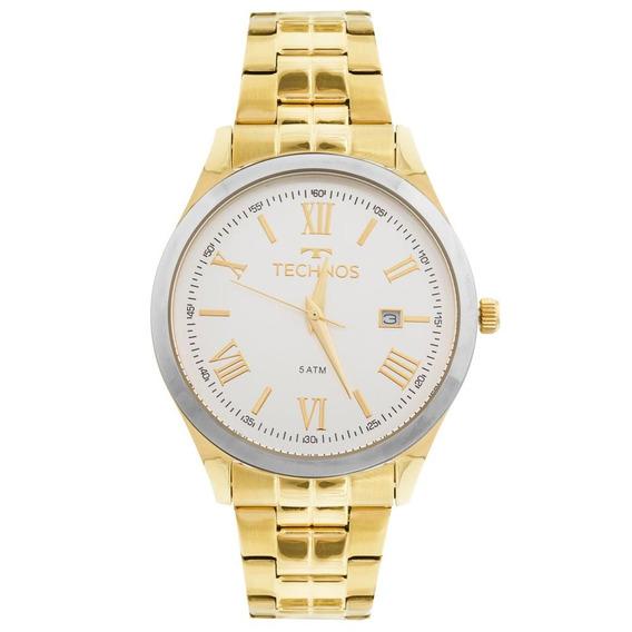 Relógio Technos Dress 2115mgm/4k Dourado