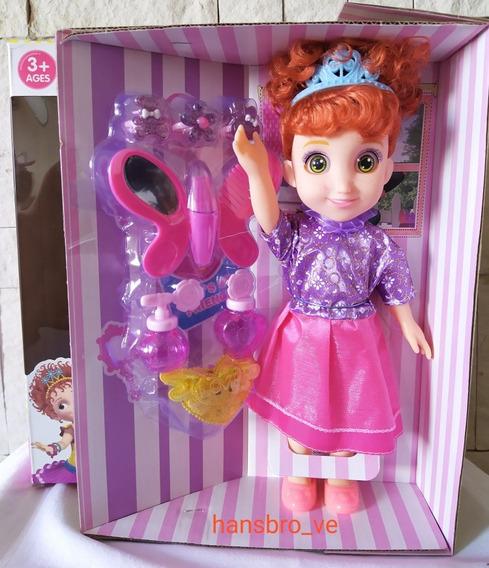 Muñeca Fancy Nancy Grande Accesorios Juguete Para Niña