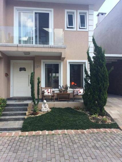 Casa Com 3 Dormitórios À Venda, 162 M² Por R$ 950.000,00 - Ecoville - Porto Alegre/rs - Ca0617