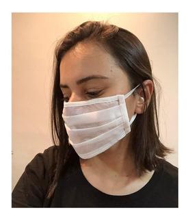 Máscara Descartável Branca 10un Envio Imediato
