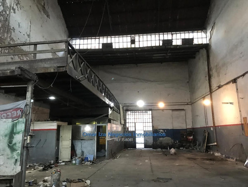 Iza. Local Industrial En Alquiler, Galpon Deposito