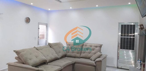 Sobrado Com 2 Dormitórios À Venda, 70 M² Por R$ 270.000,00 - Parque Santos Dumont - Guarulhos/sp - So0424