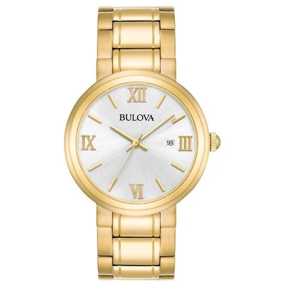 Relógio Bulova Classico Dourado - Wb26146h - 97b158 + Nfe