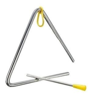 Triangulo Percusion Parquer Metal 7 Pulgadas 18 Cm Baqueta