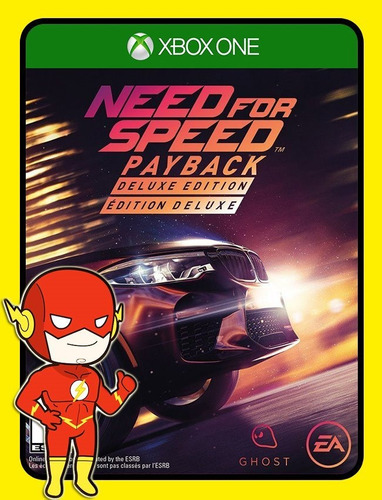 Need For Speed Payback Deluxe Xbox One 25 Dígitos (envio Flash)