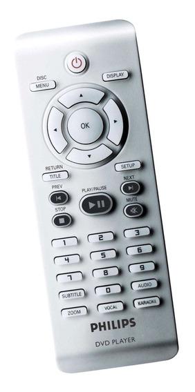 Controle Dvd Player Philips Dvp-3020/ 3142 4050 Original