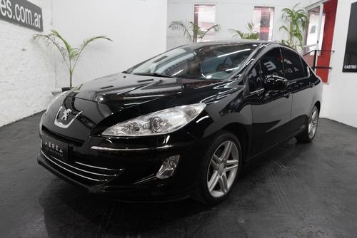 Imagen 1 de 8 de Peugeot 408 Sport 1.6 2013 Nafta Negro Excelente Estado!!