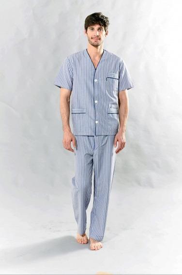 Pijama Primus Camisero Manga Corta Pantalón Largo Art.411