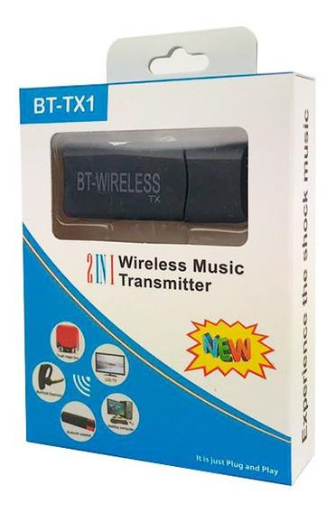 Transmissor De Áudio Bluetooth Da Tv Pc Para Fone De Ouvido