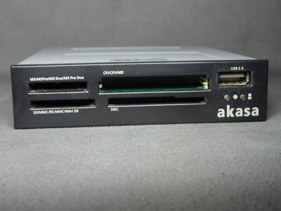 Leitor De Cartão De Memoria Para Computador Akasa