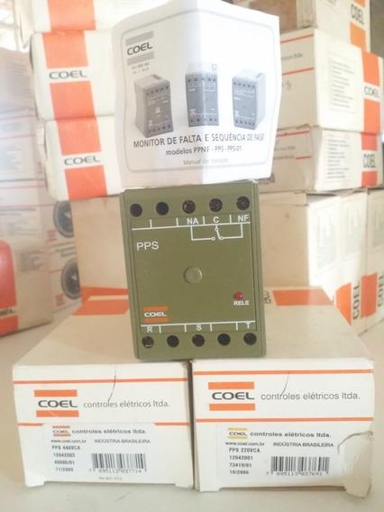 Monitor De Falta/sequência De Fase Coel Pps 440vca