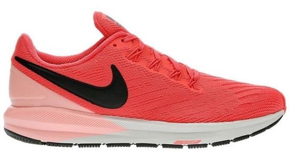 Tênis Nike Air Zoom Structure 22 Corrida Running Treino