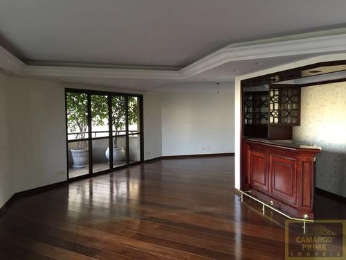 Imagem 1 de 13 de Apartamento De Alto Padrão No Alto Pacaembu Com 370 M² Área Útil! - Eb84366