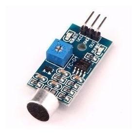 Sensor Detector De Som Modulo Arduino