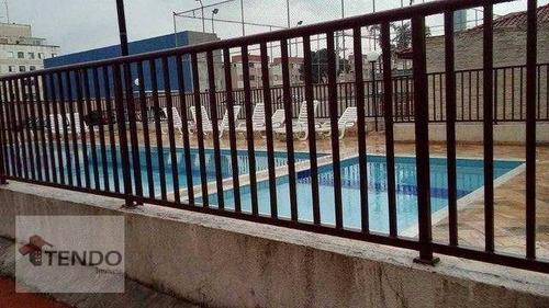 Imob03 - Apartamento Com 2 Dormitórios À Venda, 48 M² Por R$ 245.000 - Vila Urupês - Suzano/sp - Ap3016
