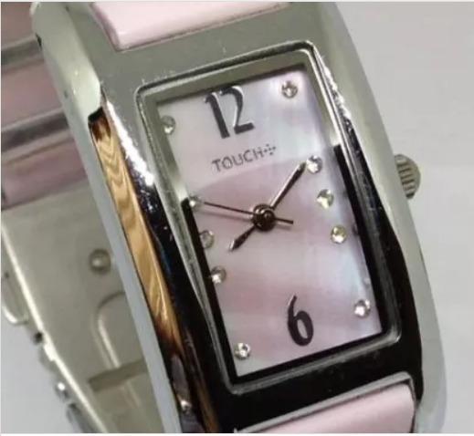 Relógio De Pulso Touch Feminino Rosa T10465 Webclock