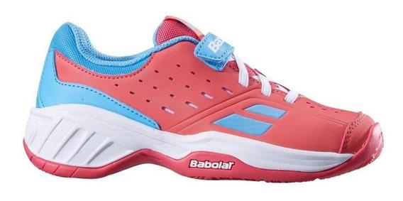 Tenis Babolat Infantil All Court Pulsion Velcro Nº 24 Ao 31