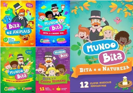 Coleção Completa Mundo Bita 5 Dvds - Super Promoção