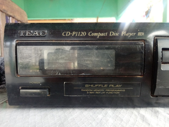 Cd Player Teac P1120 Compact Disc Player