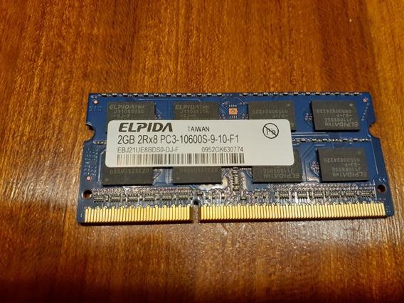 Memoria Ram 2 Gb 2rx8 Pc3-10600 Sodimm
