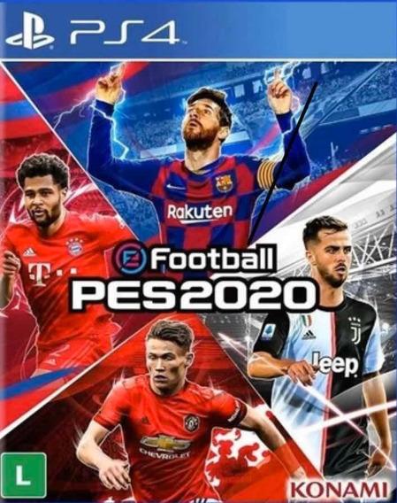 Pes 20 Efootball Ps4 1 Psn Português Jogo Vitalicio