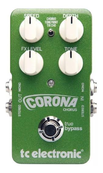 Pedal Tc Electronic Corona Chorus Baixo E Guitarra + Nf