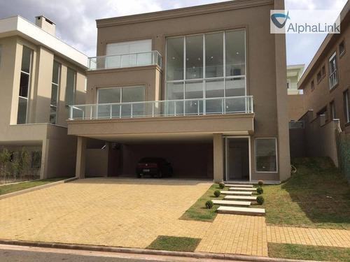 Casa À Venda, 430 M² Por R$ 2.790.000,00 - Alphaville - Santana De Parnaíba/sp - Ca0056