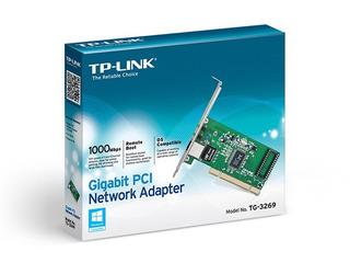 Placa De Red Ethernet Pci Tp-link Tg-3269 Gigabit