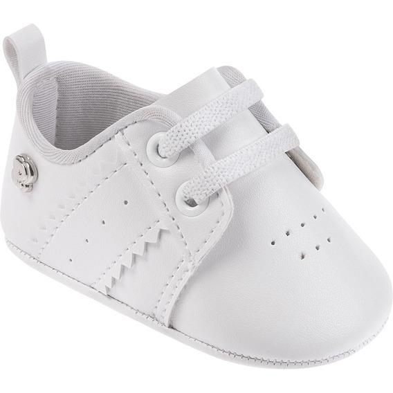 Sapato Branco Infantil - Bebê - Batizado