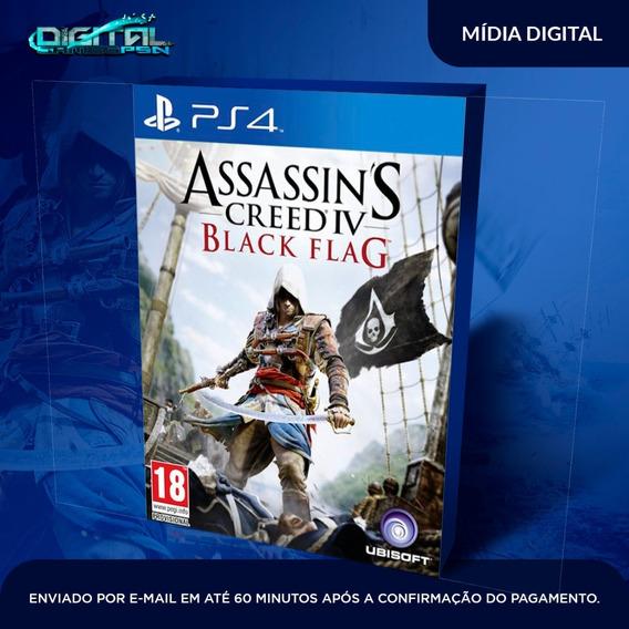 Assassins Creed Iv Black Flag Ps4 Midia Digital Envio Hj!
