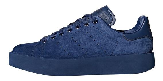 Zapatillas adidas Originals Stan Smith Bold Azul Mujer