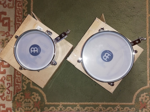 Timbales Meinl Mit810ch - Nuevos Mini Timbales