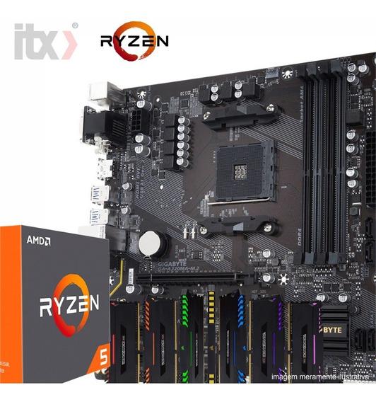 Kit Amd Ryzen 5 1400 + Gigabyte Ga-a320ma-m.2 + 16gb Rgb