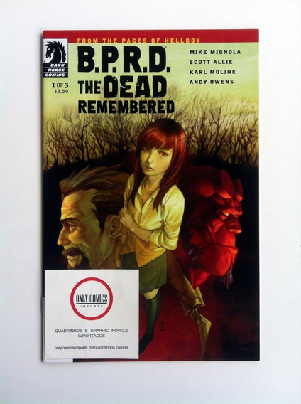 Bprd: The Dead Remembered Arco Completo #1-3 (2011) Hellboy