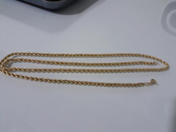 Corrente Corda Ouro 18k