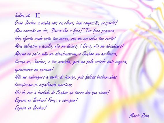 Quadro Salmo 26 Ii, Bíblico, Quadro Religioso, Salvação, Luz