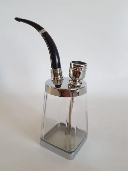 Bong Pipa De Agua Para Tabaco Acrílico 16 Cm Con Filtro