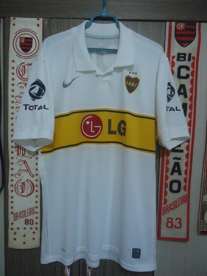 Camisa Boca Juniors ( ( Branca /amarelo / Made In Argentin