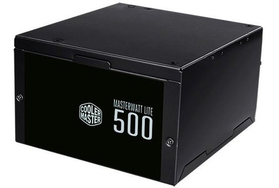 Fonte Masterwatt Lite 500w 80 Plus White Mpx-5001-acaaw-wo.