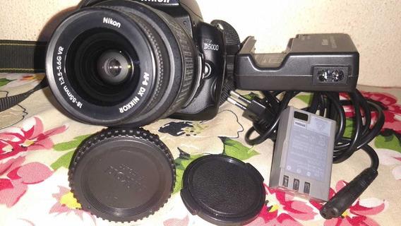 Nikon D5000 + 18-55mm Em Perfeito Estado De Funcionamento