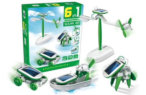 Juego Para Niños(as) 6 In 1 Educational  Kit Solar
