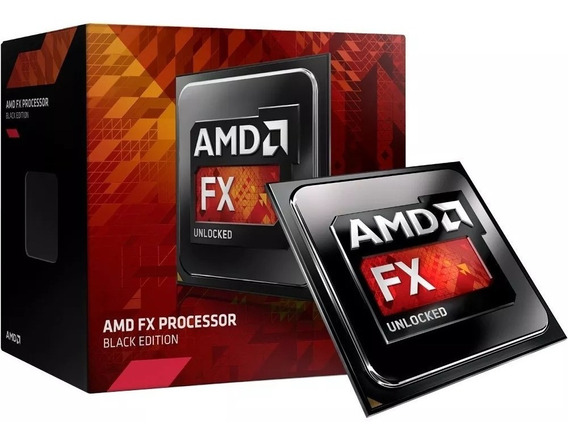 Processador Fx 8300 3.3ghz 8-core Am3+ 16mb Box - Amd