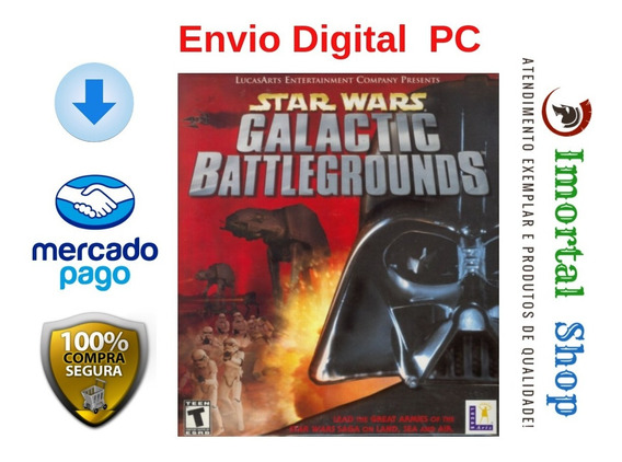 Star Wars Galactic Battlegrounds Mídia Digital Pc