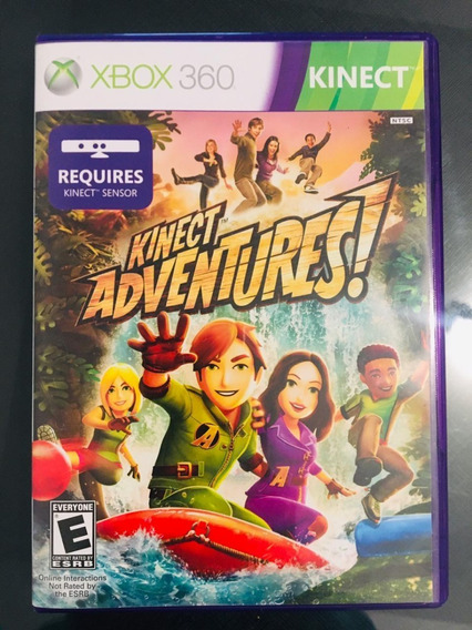 Jogo Kinect Adventures - Xbox 360 (capa Dura)