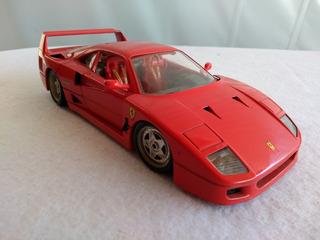 Miniatura Burago Ferrari F40 1987 1/18