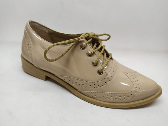 Zapato Acordonado Dama Punta Fina Invierno 2020